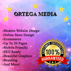 Premium Website Design Package + FREE Domain and Hosting + 20 Pages + SEO Ready