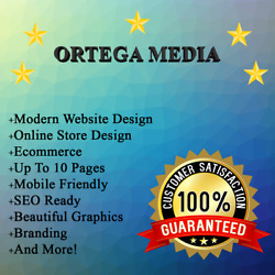 Premium Website Design Package + FREE Domain and Hosting + 10 Pages + SEO Ready