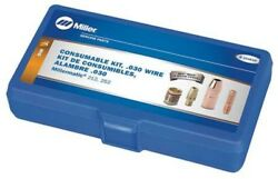 Miller Electric 234610 Gun Consumable Kit | 030 Wire, M 25 Mig