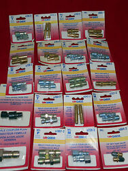 45 Display Assorted,milton/carques Lot Of Couplers Plug Diferents Models,new