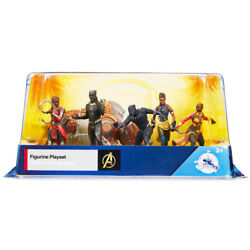 Disney Marvel BLACK PANTHER 6 PC.  PLAY SETCAKE TOPPERS  NEW!