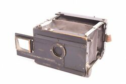 Block-notes Folding Camera By Gaumont With Tessar Zeiss F/6.3-72mm Lens. 1 13/