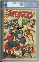 AVENGERS #4 PGX 9.6 WHITE PAGES