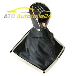Gear Knob Shift Cover Boot Fits For Ford Focus New
