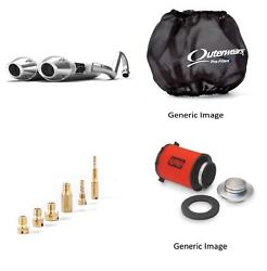 Jet Kit,pre Filter,air Filter And Brushed Full Exhaust For Yamaha Rhino 660 04-07
