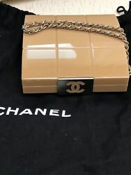 AUTHENTIC COLLECTIBLE CHANEL CLUTCH WRISTLET PURSE BAG AMAZING!!! 3950$