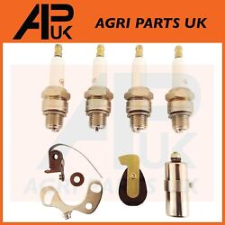 Massey Ferguson TE20 TEA 35 135 Tractor Tune Up Kit Contact Set Rotor Arm Plugs