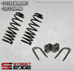 Street Edge Lowering Kit 83-97 Mitsubishi Mighty Max 2wd 2.5 Front And 3 Rear