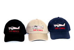 Piper Cherokee Aircraft Embroidered Cap By Aswce