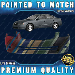 New Painted To Match Front Bumper Cover Fascia For 2005 2006 Nissan Altima 05 06