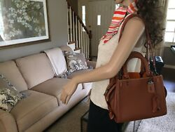 NEW COACH ROGUE 25 1941 GLOVE TANNED LEATHER BAG SATCHEL RARE SADDLE 54536 $598