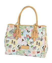 Disney Parks Dooney Bourke Sketch arge Tote Bag New with Tag