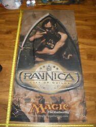 Mtg Magic Ravnica City Of Guilds Cloth Poster Hanging Store Display