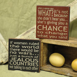 Funny Signs If Women Ruled the World Jealous Countries Not Speaking