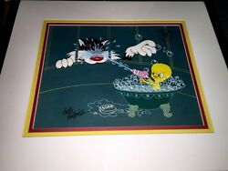 Warner Brothers Cel The Squirt Tweety Bird Sylvester The Cat Rare Edition Cell