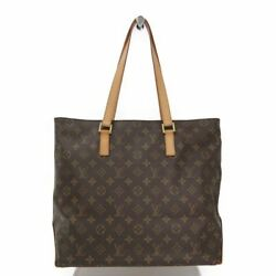 Louis Vuitton Monogram Cabas Mezzo M51151 Women's Tote Bag Monogram BF320172
