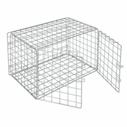 Hubert Chrome Wire Lockable Security Cage - 36l X 18w X 15h