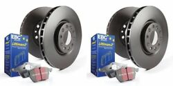 EBC S20K1377 - Stage 20 Front and Rear Brake Kit