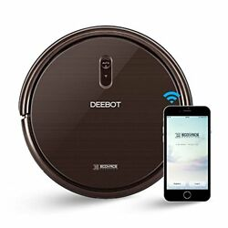 Robot Vacuum Cleaner W/max Power Suction Connectivity App Controls Self-charging