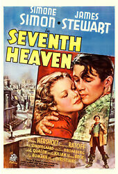 Movie Poster Seventh Heaven 1937 One Sheet 27