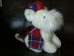 Stuffed Westie - West Highland White Terrier