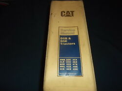 Cat Caterpillar D5b D5e Crawler Tractor Dozer Service Shop Repair Manual Book