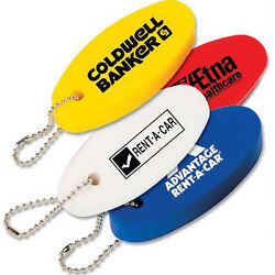 250 Custom Floating Key Chain With Your Logo Boat Key Float Lot