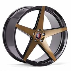 20x10 5x108 CURVA C55 BRONZE MADE FOR FORD JAGUAR VOLVO