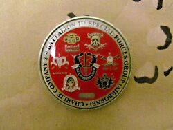 7th Special Forces Group, C Company, 2nd Battalion Medusa Challenge Coin 006