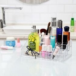 Home Indoor Makeup Cosmetic Storage Organizer Travel Bag Drawer Box Case Clear