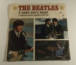 The Beatles Capitol Records Vintage Collectible Record A Hard Dayand039s Night