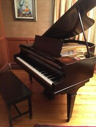 Antique 1914 Marshall And Wendell Baby Grand Piano Sn 49101
