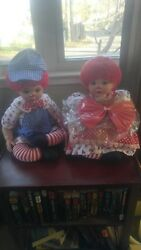 Marie Osmond Doll Rare Raggedy Ann And Andy Set
