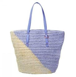Straw Beach Tote Shoulder Bag Womens Large - Washable Lining BEACH'D