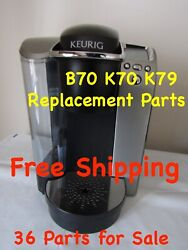 Keurig B70 K70 K79 Genuine Replacement Parts Multi-part-listing Check It Out