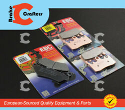 2014 - 2015 Bmw R Nine T Rninet K21 - Front And Rear Ebc Hh And Organic Brake Pads
