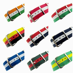 ** Military Style Patriotic Webbing Watchstraps