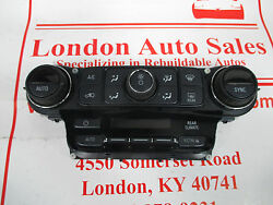 FACTORY OEM USED 2016 GMC YUKON HEATER AC CLIMATE CONTROL 23251608