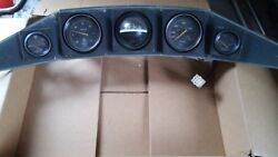 Boat Dash/ Panel Gauges Cluster Oil Pressure Rpm Speedometer Tachometer And Temp