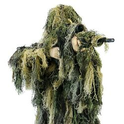 Arcturus Warrior Ghillie Suit | 5-pc Camo Suit For Hunting Military And Airsoft