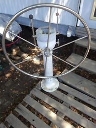 Vintage Yacht Specialities Pedestal Sailboat Used