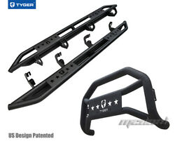 Tyger Armor And Bumper Guard Combo Fit 07-18 Chevy Silverado/sierra 1500 Crew Cab