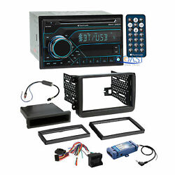 Planet Audio USB Bluetooth Stereo Dash Kit Amp SWC Harness for 2006+ Volkswagon