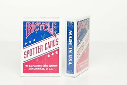 Bicycle Wwii Aviation Spotter Playing Cards - Red