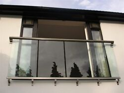 Juliette Balcony Kit With 10mm Glass Infills