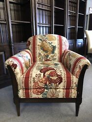 Hickory Chair Emily By Alexa Hampton Occasional Upholstered Chair 5416-22 Red