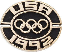 1992 Basketball Dream Team Olympic Games Gold Medal Pin Loa