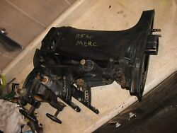 1974 74 76 Mercury 115 Hp Exhaust Transom Clamp Swivel Bracket And Mid Section 90