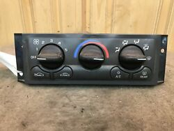 1997-99 Olds Silhouette Venture Used OEM Heat Air Climate Temp Control Switch