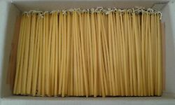 Greek Church Natural Beeswax Lot Of 23 50 110 240 650 1000 2000 Candles 9 23cm